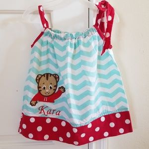Other - 2 for $15 Daniel Tiger Pillowcase Dress